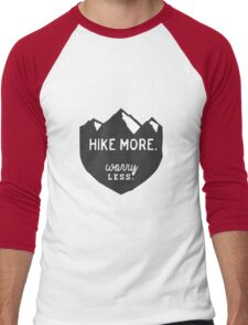 Hike More Art Men's Baseball ¾ T-Shirt