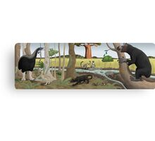 Pleistocene Madagascar Canvas Print