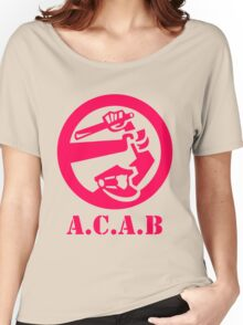 A.C.A.B All Cops Are Bastards Women's Relaxed Fit T-Shirt