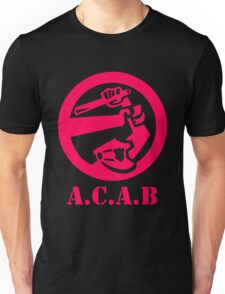 A.C.A.B All Cops Are Bastards Unisex T-Shirt