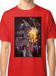 Robot Angel Painting 019 Classic T-Shirt