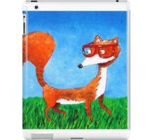 Clever fox iPad Case/Skin