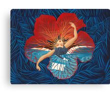Flower Hawaii Pele Canvas Print