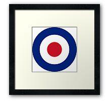 RAF MODS Framed Print