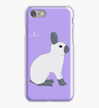 Blue Sable Point Rabbit iPhone Case/Skin