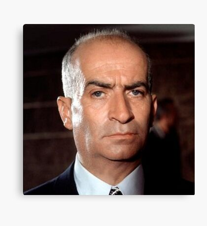 Louis de funes Canvas Print