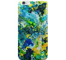 Painted Storm Wave Crash Lovers iPhone Case/Skin