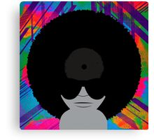 Funky Vinyl Records - Music Art Canvas Print