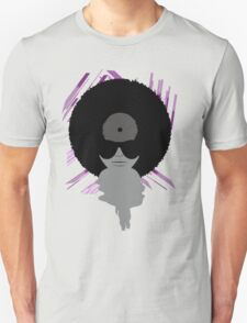 Funky Vinyl Records - Music Art T-Shirt