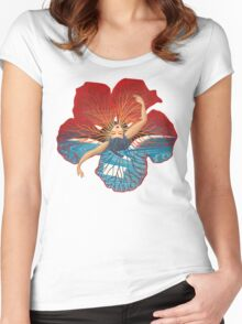 Flower Hawaii Pele Women's Fitted Scoop T-Shirt
