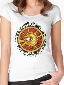 Dr Strange Eye of Agamotto  Women's Fitted Scoop T-Shirt