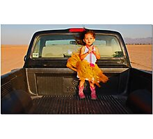 M In A Truck Photographic Print