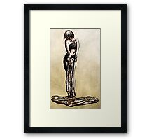 The Auction Block Framed Print