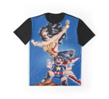 Steven and Wonder Woman ! Graphic T-Shirt