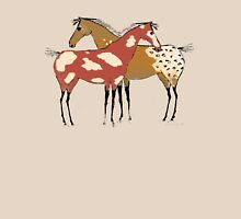 Two Horses -Paint & Appaloosa Design T-Shirt