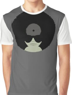 Funky Music Vinyl Records Graphic T-Shirt