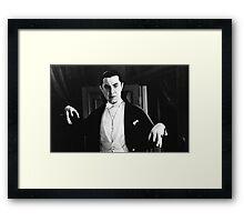 Bela Dracula Framed Print