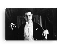 Bela Dracula Canvas Print