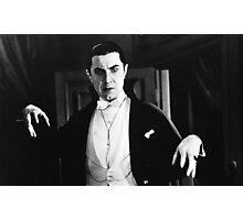 Bela Dracula Photographic Print