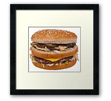 Big Mac Framed Print