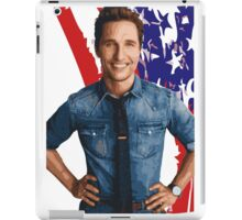 All-American Matthew McConaughey iPad Case/Skin