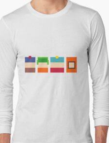 South Park Pixels Long Sleeve T-Shirt