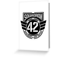 Squadron 42 Greeting Card