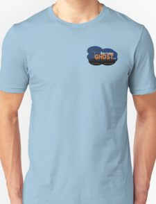 Anything Ghost Tree Logo - Blue Unisex T-Shirt