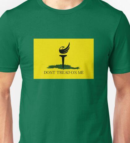 Gadsden Libertarian Flag Unisex T-Shirt