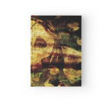 Death - Artwork with Stained Canvas Texture Hardcover Journal