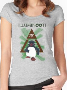 Illuminooty Women's Fitted Scoop T-Shirt