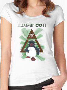 Illuminooty Women's Fitted Scoop T-Shirt