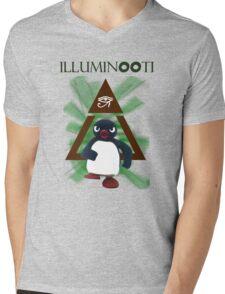 Illuminooty Mens V-Neck T-Shirt