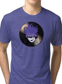 Punk Rock Vinyl Record -  MUSIC! Tri-blend T-Shirt