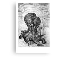 Singularity Sculpture Canvas Print