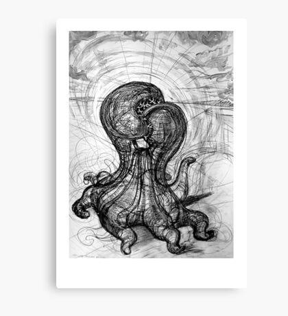 Singularity Sculpture Canvas Print