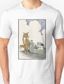 Fox, Falco, and The Jar of Truth Unisex T-Shirt