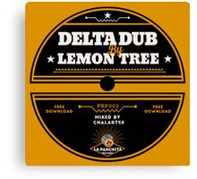 Delta Dub By Lemon Tree Canvas Print