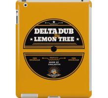 Delta Dub By Lemon Tree iPad Case/Skin