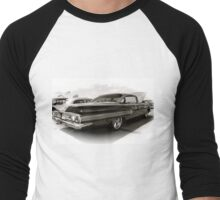 1960 Chevy Impala Men's Baseball ¾ T-Shirt