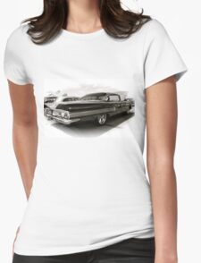 1960 Chevy Impala Womens Fitted T-Shirt