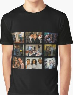 "Psych ""in Character"" Collage Graphic T-Shirt"