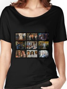 "Psych ""in Character"" Collage Women's Relaxed Fit T-Shirt"
