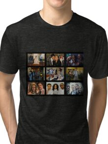 "Psych ""in Character"" Collage Tri-blend T-Shirt"