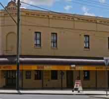 Victoria Hotel, Bathurst, Victoria, Australia. Sticker