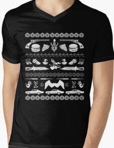 SUPERNATURAL HOLIDAY Mens V-Neck T-Shirt
