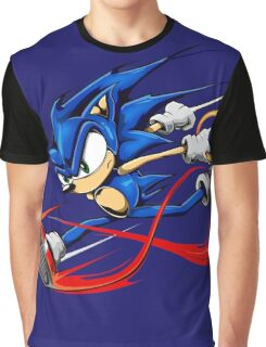 Sonic Sprinting  // Fan-Art  Graphic T-Shirt