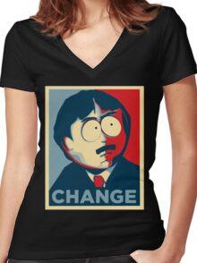 South Park Randy Marsh Women's Fitted V-Neck T-Shirt