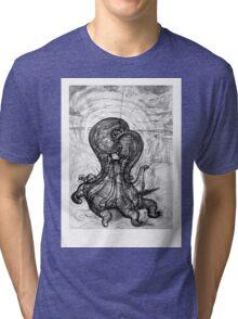 Singularity Sculpture Tri-blend T-Shirt