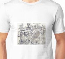 Princess Bridge Study, Melbourne Unisex T-Shirt